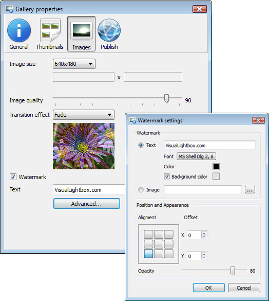 Templates window : Auto Slideshow Coding