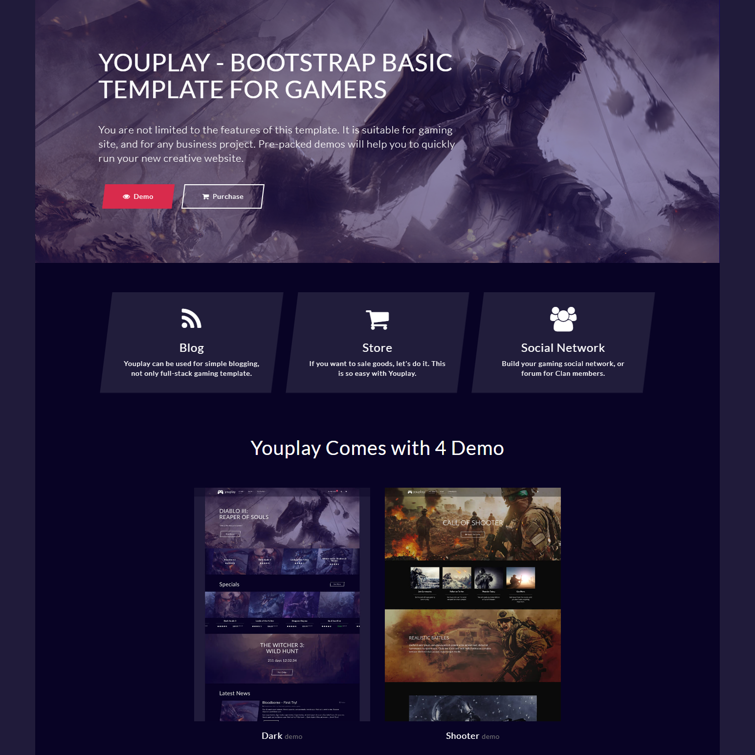 HTML5 Bootstrap Basic Themes