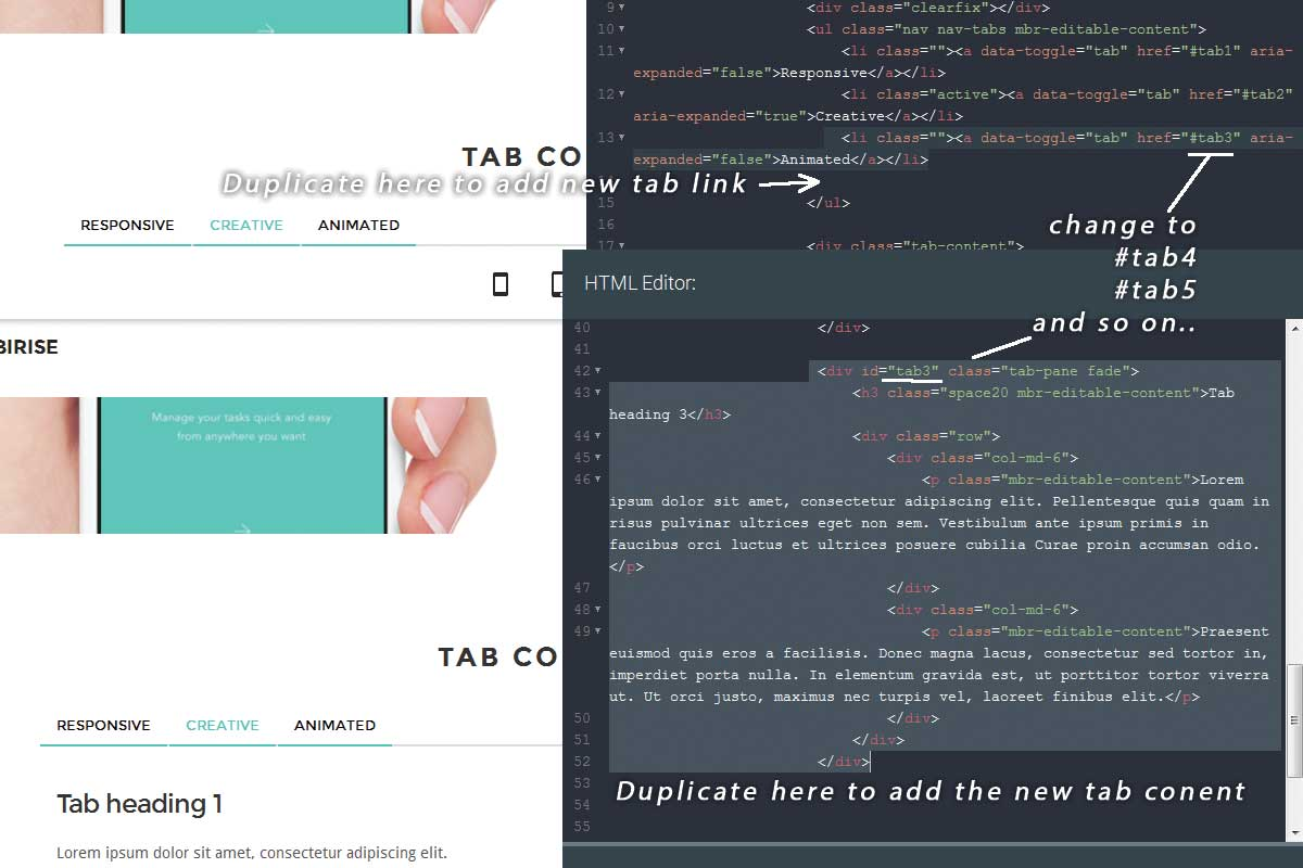 Twitter Bootstrap Agency Theme Template