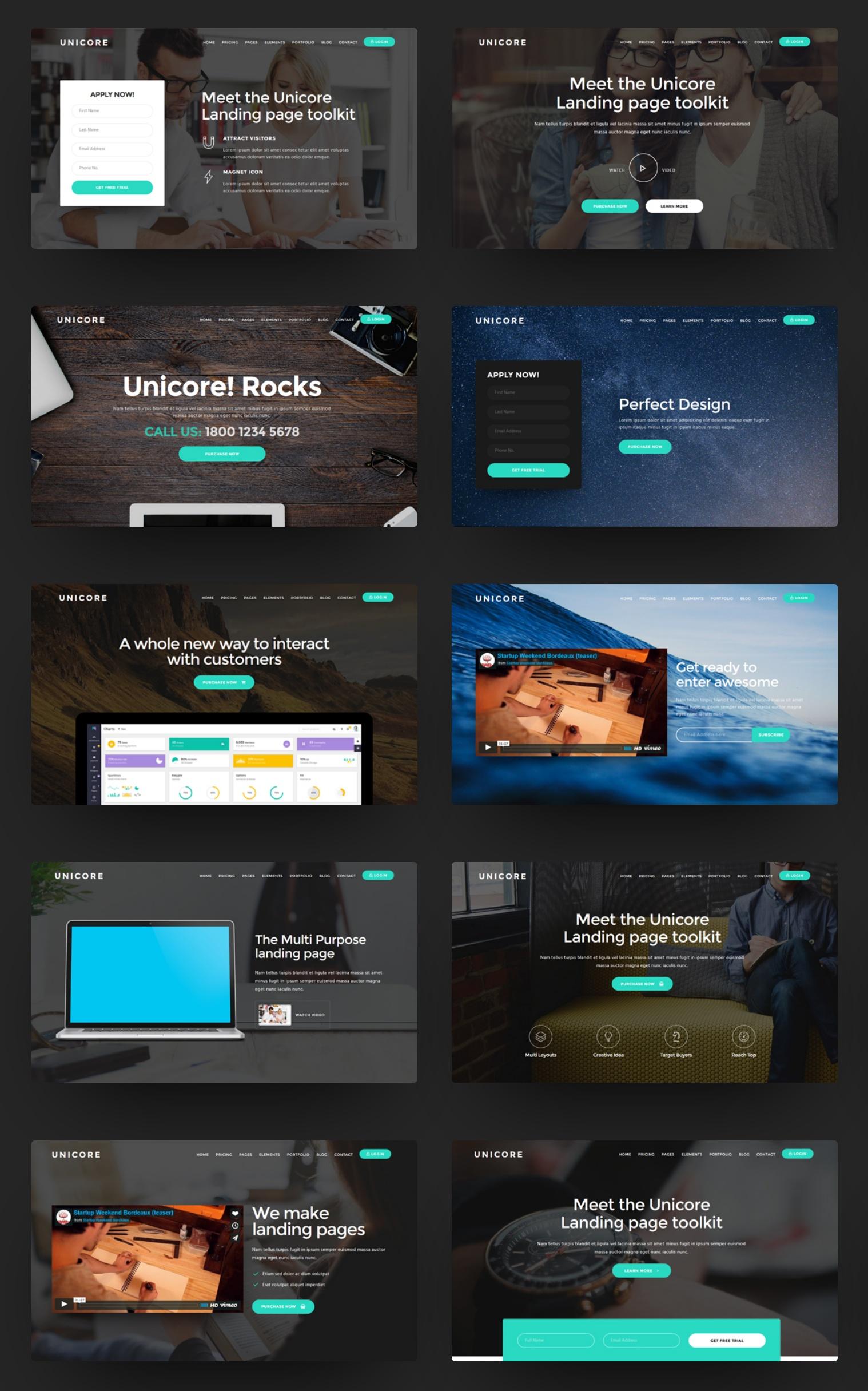 Custom Bootstrap Blog Theme Generator