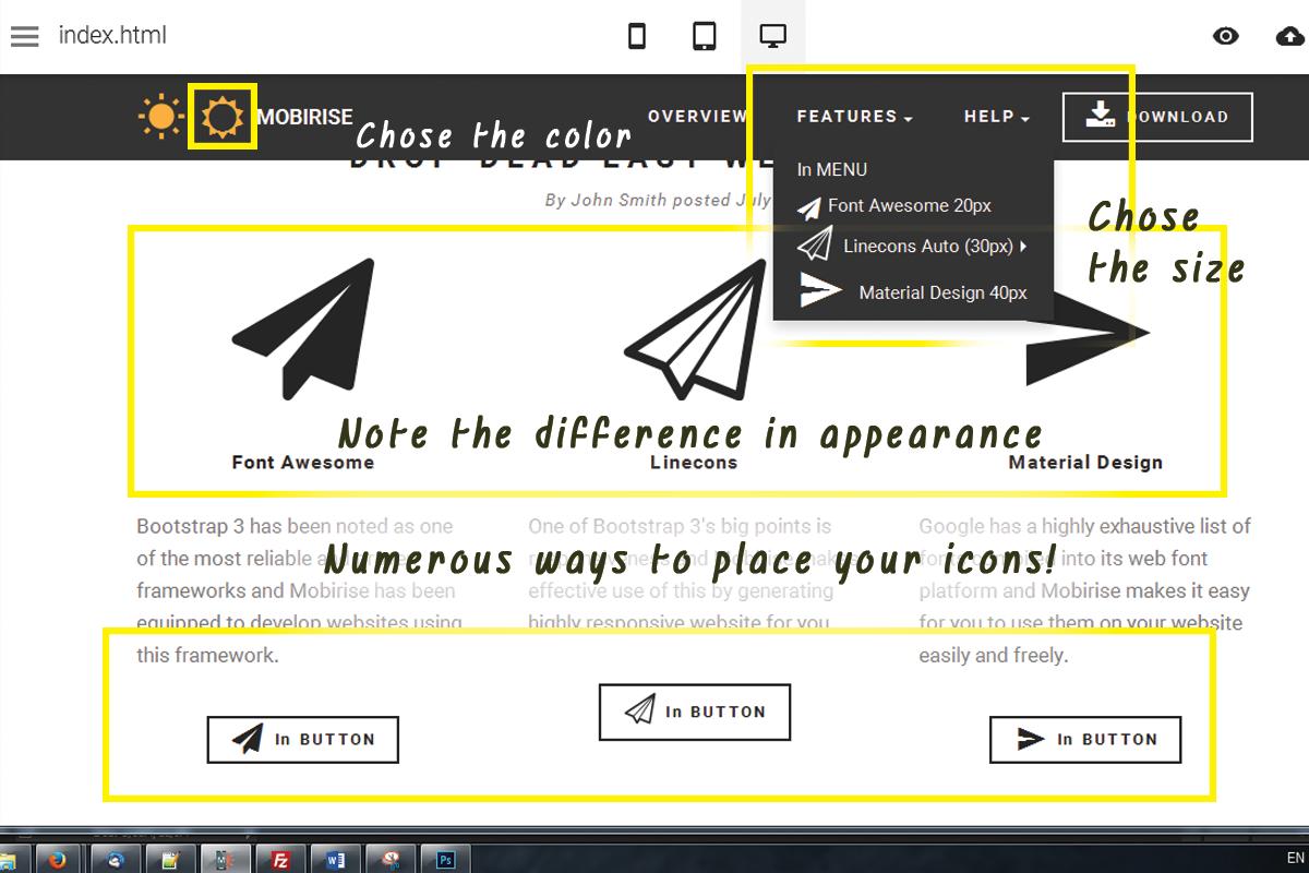 Easy HTML Web Development Software
