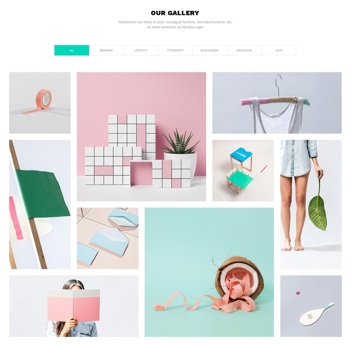 HTML Bootstrap Parallax Theme