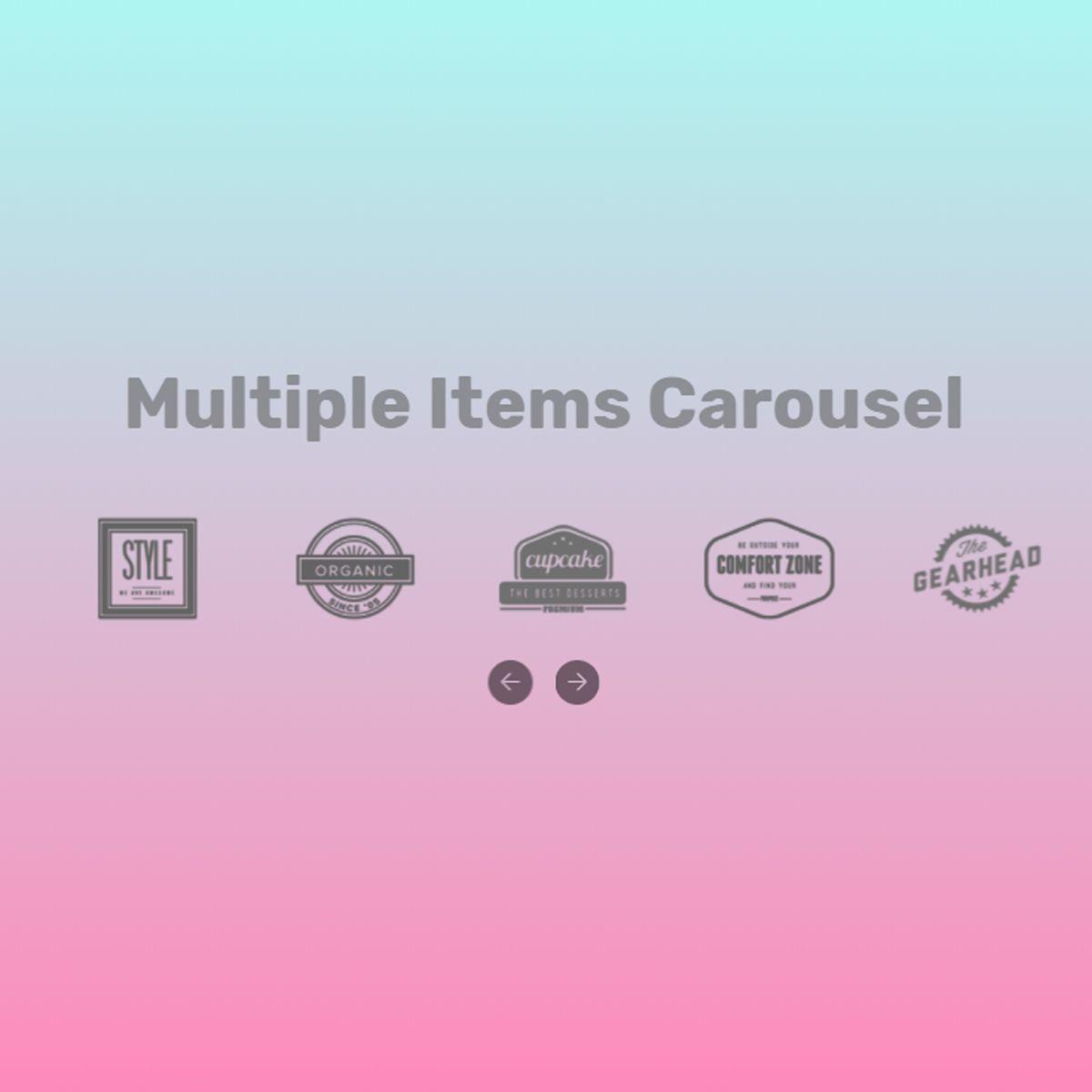 CSS Bootstrap Illustration Carousel