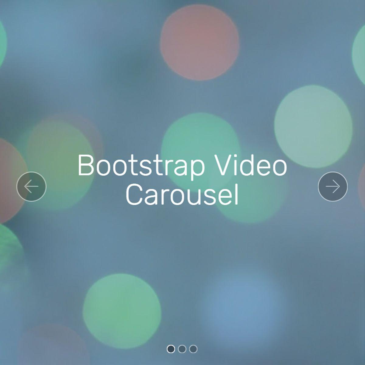 jQuery Bootstrap Illustration Slider