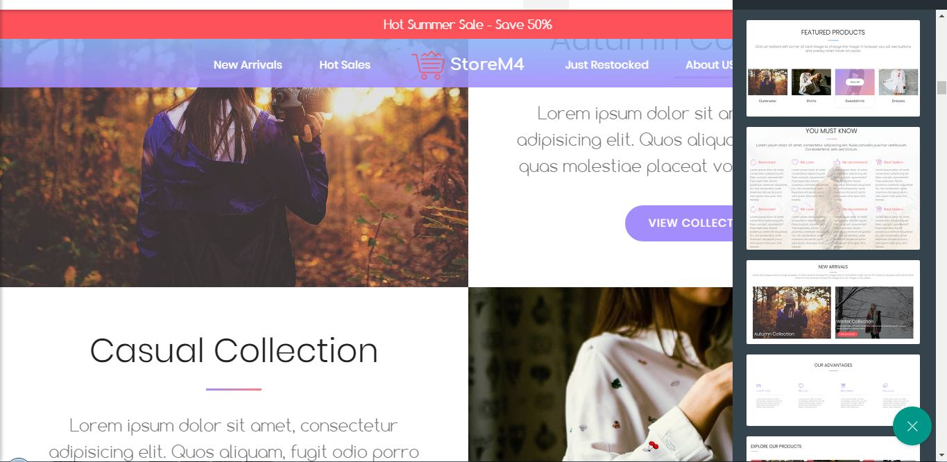 Bootstrap Website Theme
