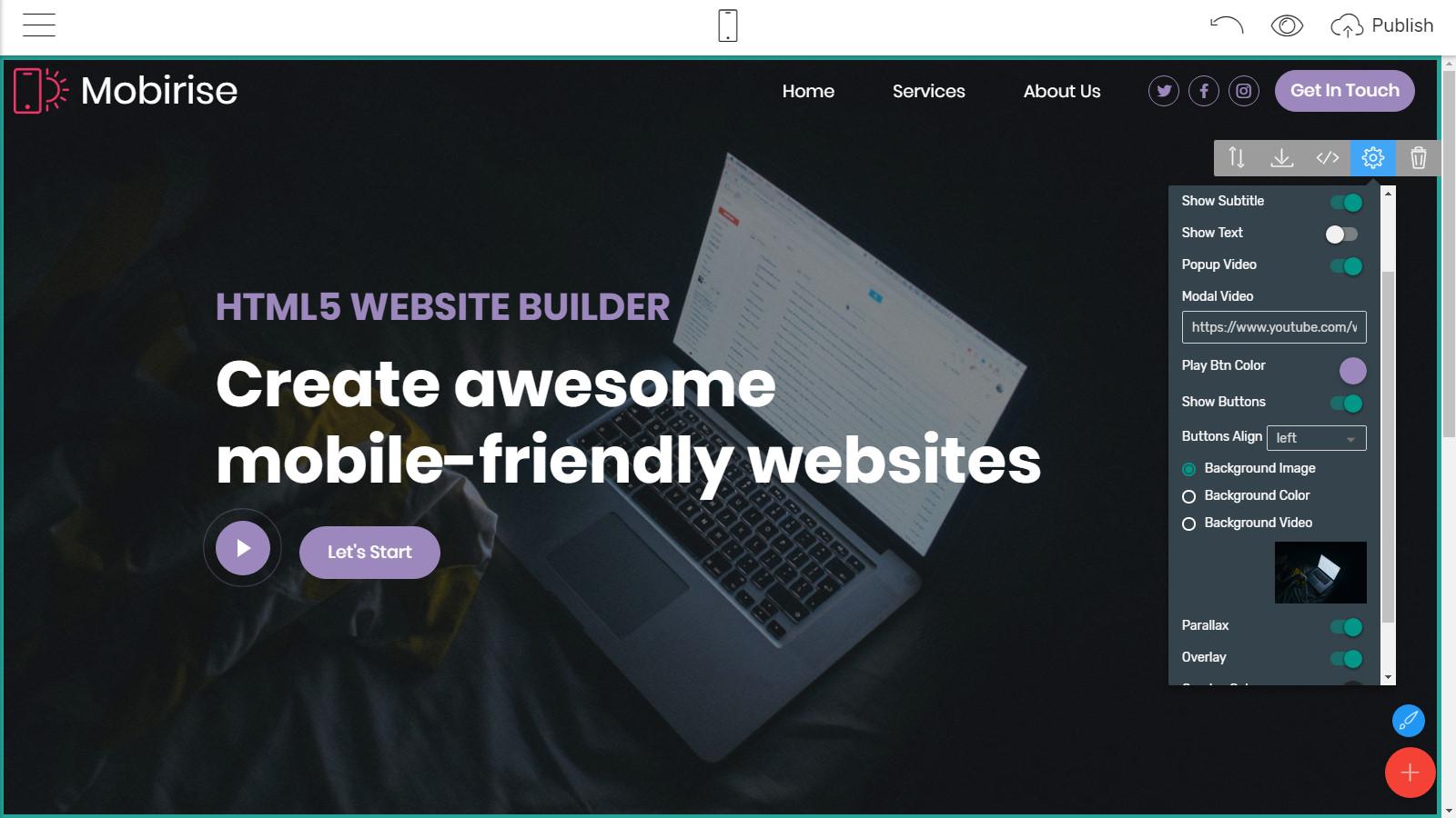 mobile-friendly webpage layouts