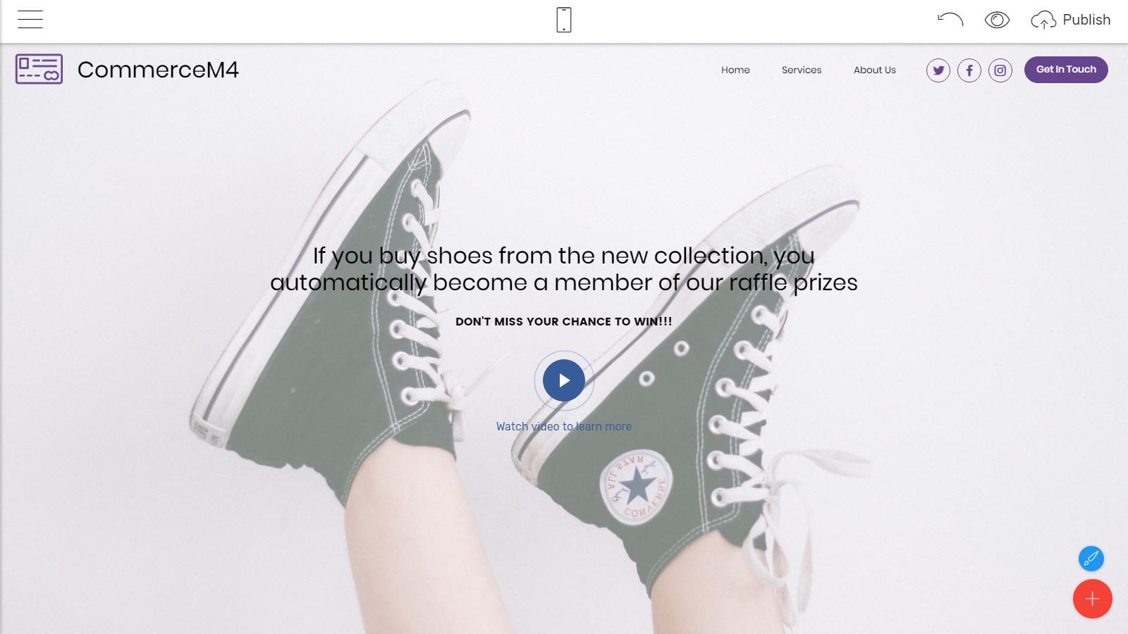 responsive webpage templates