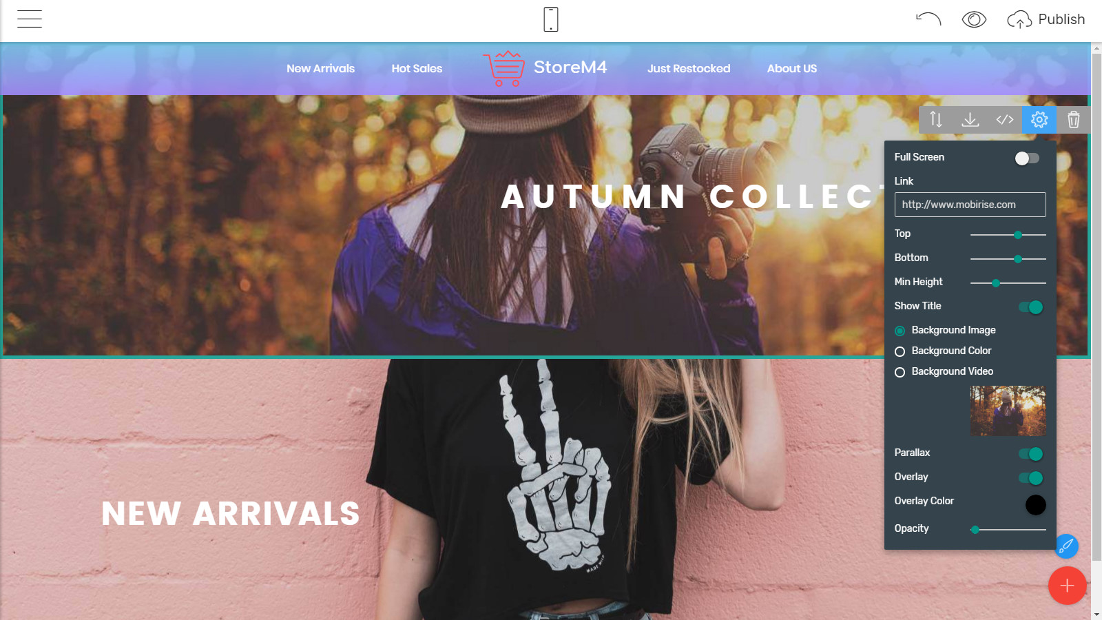 free page themes