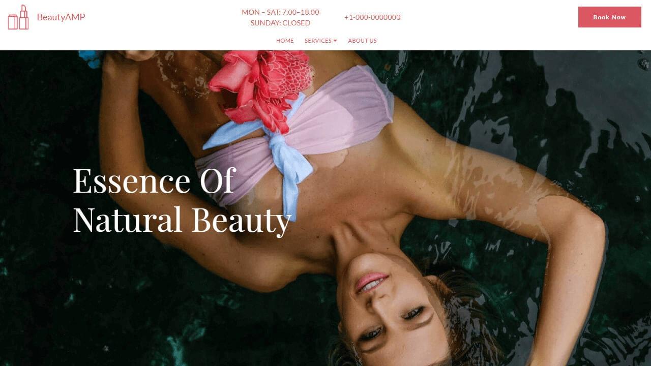Beauty Salon Template