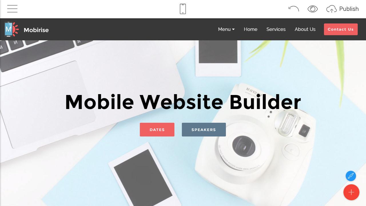Mobirise Free Site Maker